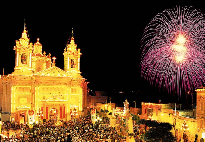 Festa Season in Gozo